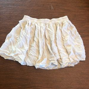 Cream AE one size skirt